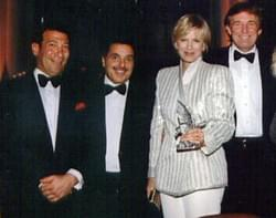 Barnes & Noble Chairman Len Riggio, Diane Sawyer and Donald Trump