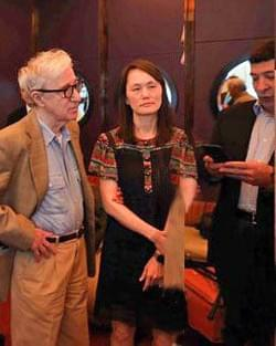 Woody Allen, Soon-Yi, Mark SImone