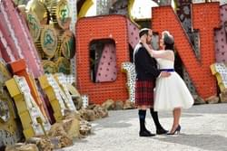 Las Vegas Neon Museum Wedding