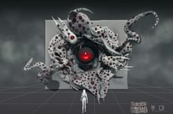 Portal design exploration for Suicide Squad