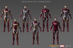 Ironman Suit Variations
