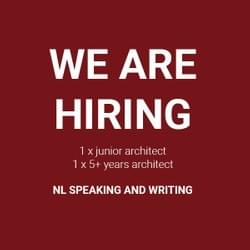 2016.09 – WE ARE HIRING