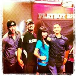 Spice Radio with the Playboy Crew at SiriusXM [2012]