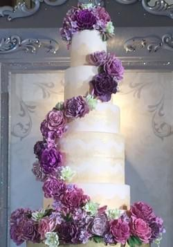 Tower Floral Cake