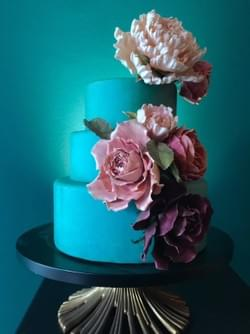 Mad About Sucre _  Rose & Peony Cake