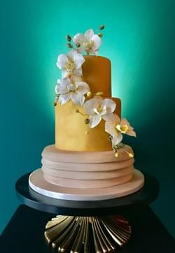 Mad About Sucre _ Moth Orchid Cake