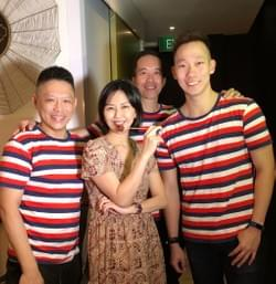 Stephanie Sun (孙燕姿) and the team at Mad About Sucre