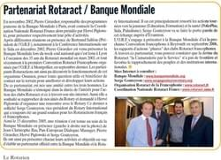 Le Rotarien Magazine - January 2006