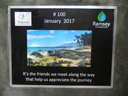 Water well in Cambodia installed by the Mark & Trina Ramsey Foundation through a donation made by  Molly Hoffman & Trina Ramsey, in celebration of their friendship