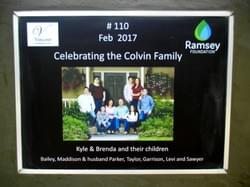 Water Well in Cambodia installed by Mark & Trina Ramsey Foundation through a donation made by the family & friends of Brenda Colvin, in celebration of her birthday.