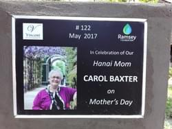 Water Well in Cambodia installed by Mark & Trina Ramsey Foundation in celebration of Carol Baxter on Mother's Day