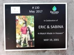Water Well in Cambodia installed by Mark & Trina Ramsey Foundation in celebration of Eric & Sabina's anniversary - A Match Made in Heaven!