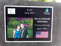 Water Well in Cambodia installed by Mark & Trina Ramsey Foundation through a donation made by Bill Hoffman in honor of his parents, Bill & Darlene Hoffman