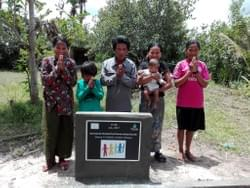Water Well in Cambodia installed by Mark & Trina Ramsey Foundation through a donation made by the congregation of Norwood Park Lutheran Church, who collected spare change to fund this well!  A special thanks goes out to Pastor Justin Baxter for spearheading this effort!