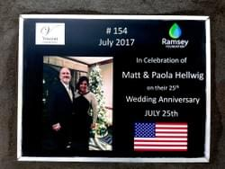 Water Well in Cambodia installed by Mark & Trina Ramsey Foundation through a donation made by Don & Karen Hellwig in celebration of their son, Matt & his wife, Paola's 25th wedding anniversary
