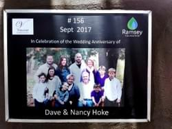 Water well in Cambodia installed by Mark & Trina Ramsey Foundation in celebration of Dave & Nancy Hoke's wedding anniversary