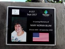 Water Well in Cambodia installed by Mark & Trina Ramsey Foundation in loving memory of Norma Blum of Crestline, Ohio