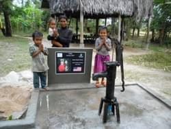 Water well in Cambodia installed by the Mark & Trina Ramsey Foundation through a donation made by  Lisa Ross, in celebration of her daughter Rachel's mission in Nauvoo