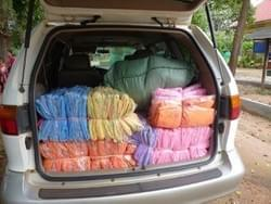 Mark & Trina Ramsey Foundation donates 70 Mosquito Nets  to Cambodian families