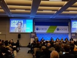 Yvonne Mburu au forum  Africa's Shifting Boundaries de l'OCDE