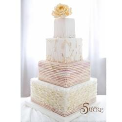 Mad About Sucre - 4-tier Classic wedding cake
