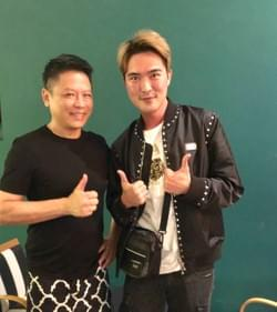 Mediacorp artiste Lee Teng at Mad About Sucre