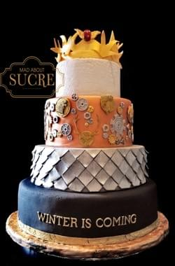 Mad About Sucre - Viking-themed cake