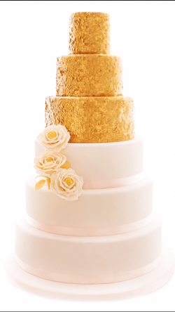 Mad About Sucre - Sequin Wedding Cake