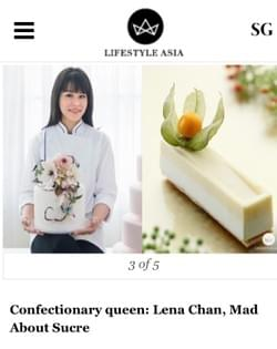 Confectionary Queen of Singapore - http://www.lifestyleasia.com/all/en/dining/photo-story/5-singapore-female-chefs/