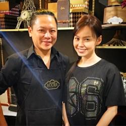 Mediacorp actress Candyce Toh at Mad About Sucre