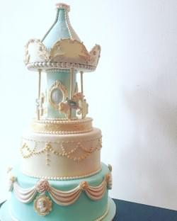 Mad About Sucre - Classic Carousel Birthday Cake