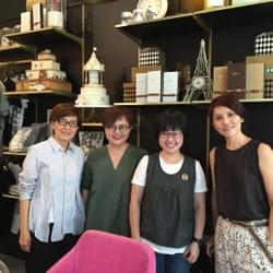 Management team of Mediacorp at Mad About Sucre