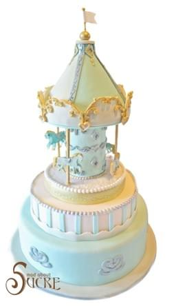 Mad About Sucre - Carousel Wedding Cake