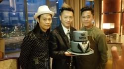 So Boss of Grasshopper (HK) group with his birthday cake handcrafted by Mad About Sucre