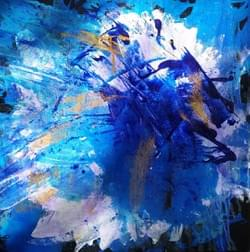 Deeply Blue - SOLD