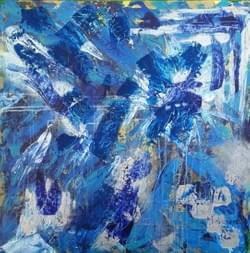 Blue Sun II - SOLD