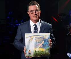 In League with Dragons #1. The Late Show with Stephen Colbert had the band The Mountain Goats perform.