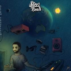 Astro Travellin (album artwork for SteviBeats