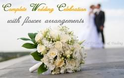 Wedding Celebrations with Flower Arrangements
