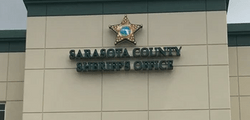 Sarasota County Sheriff - Channel Letter Sign from Signs in One Day