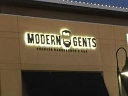 Modern Gents - Channel Letter Sign from Signs in One Day