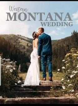 2021 Western Montana Wedding Magazine Cover Winner