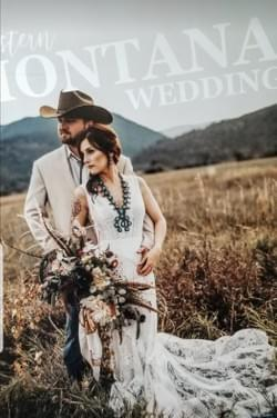 2020 Western Montana Wedding Magazine Cover Winner