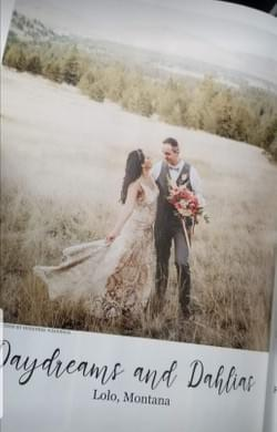 2020 Western Montana Wedding Feautued Editoral Stylist