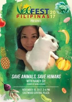 Save Animals, Save Humans with Nancy Siy