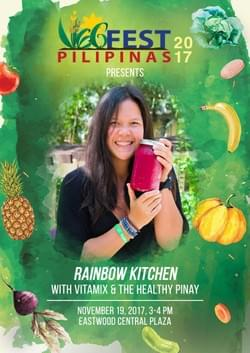 Rainbow Kitchen with Vitamix Philippines and The Healthy Pinay