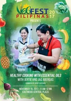 Healthy Cooking With Essential Oils with Jertie's Kitchen