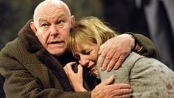 Timothy West and Caroline Langrishe in 'The Handyman' by Ronald Harwood