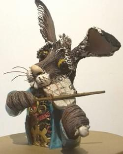 Hare on a G string - Bust