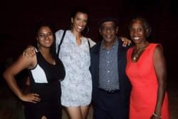 NAMI Urban LA's  employees, Marguerite Alexis, Michelle Taylor Greene, Harold Turner, and Monique Ruffin all smiles after the event.